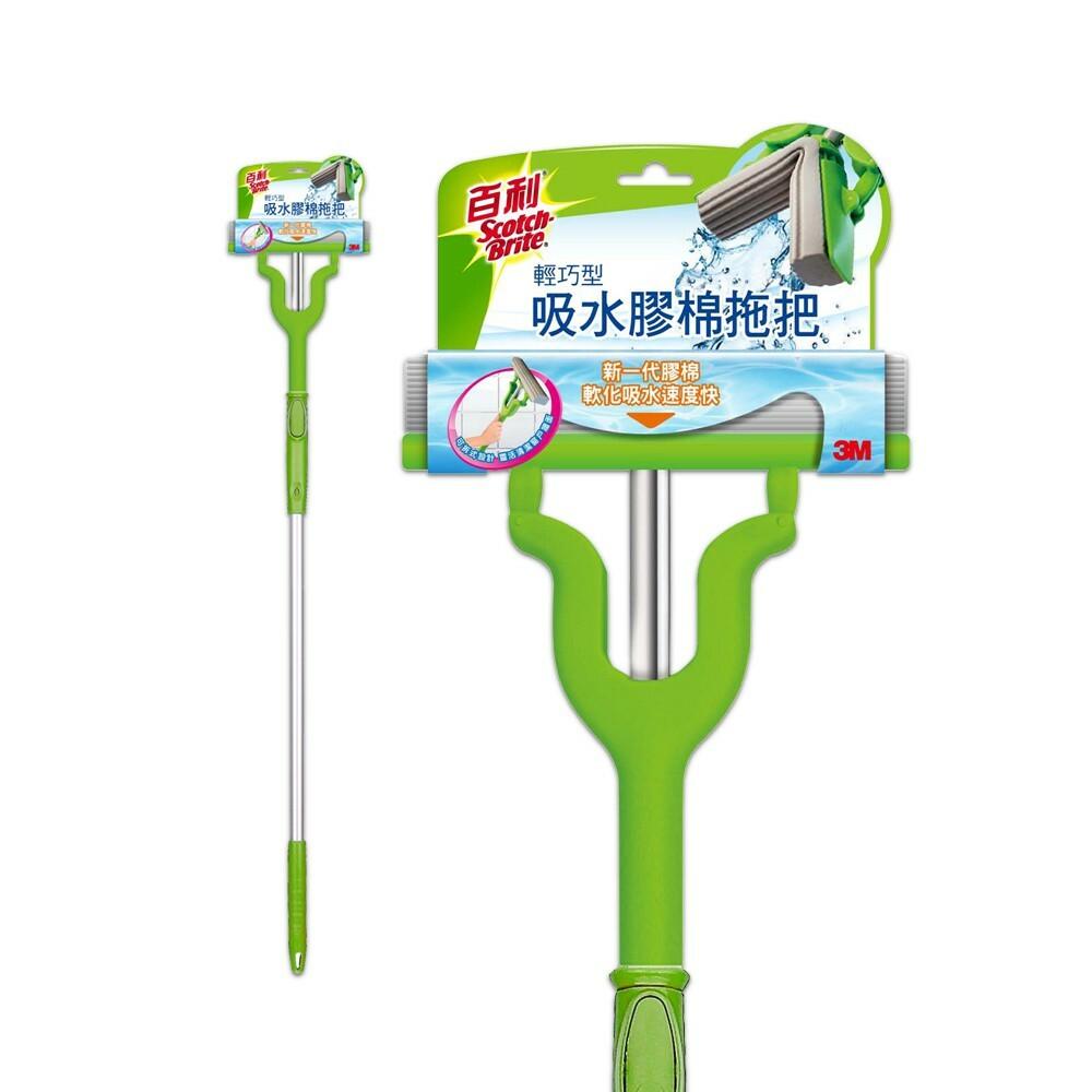 3M_4710367362739-3M 百利輕巧型:吸水膠棉拖把及補充包