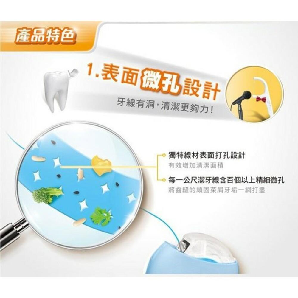 3M 細滑微孔潔牙線:簡約風格(黑、白)/馬卡龍(隨機出貨)