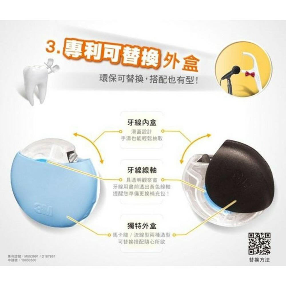 3M 細滑微孔潔牙線:環保補充包