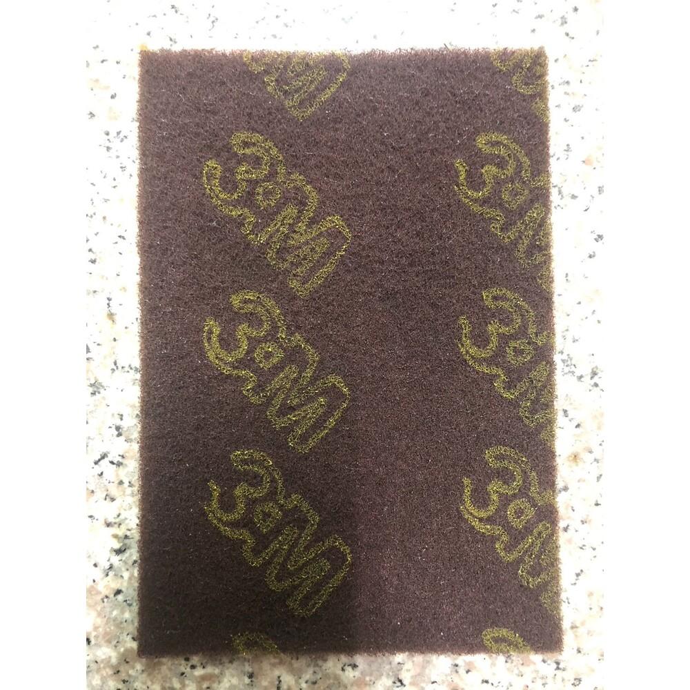 3M_7447B-3M 百利抗菌除鏽爐具強效專用菜瓜布 :大棕2入、大棕1入、小棕5入