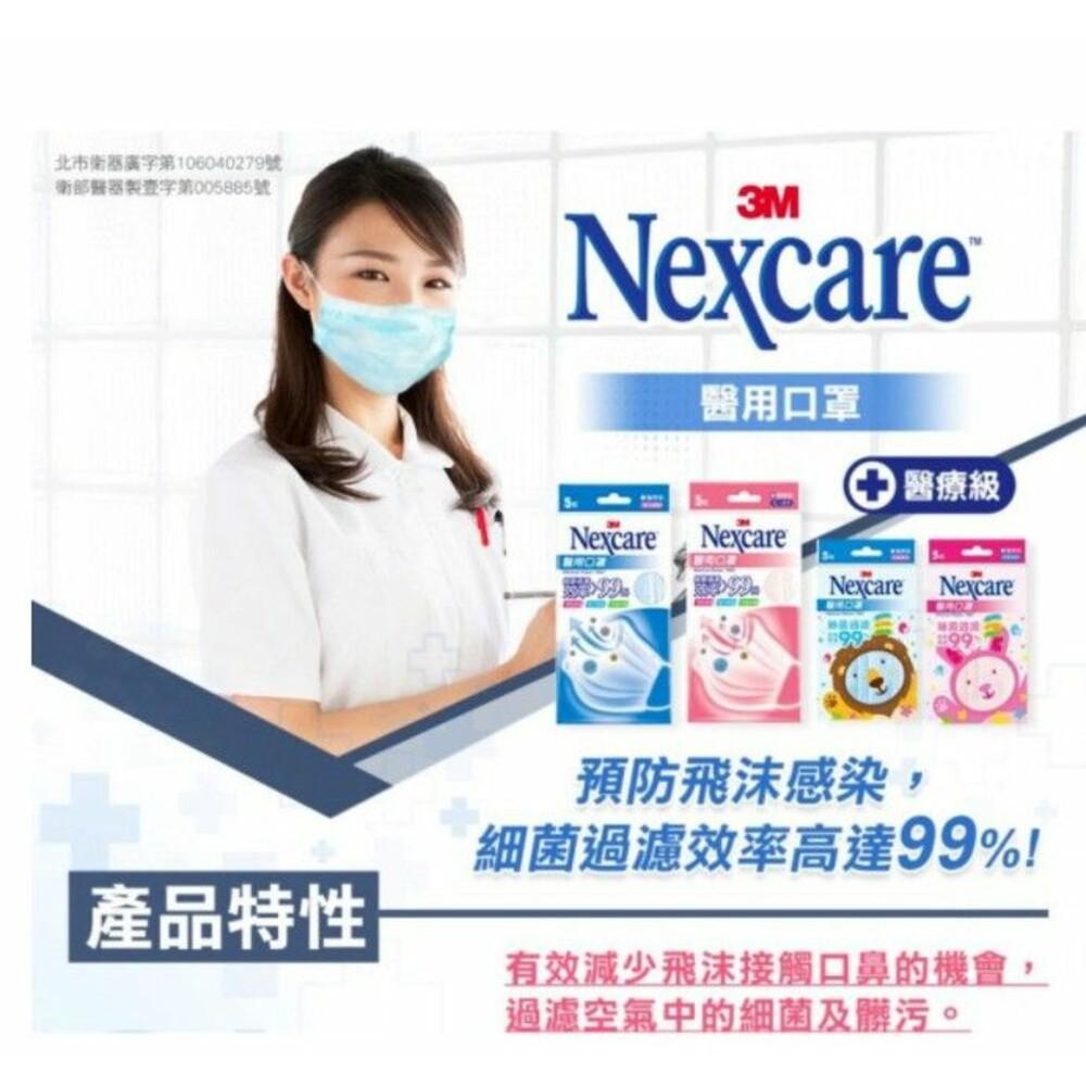 3M Nexcare  7660醫用口罩50入/盒:成人/兒童