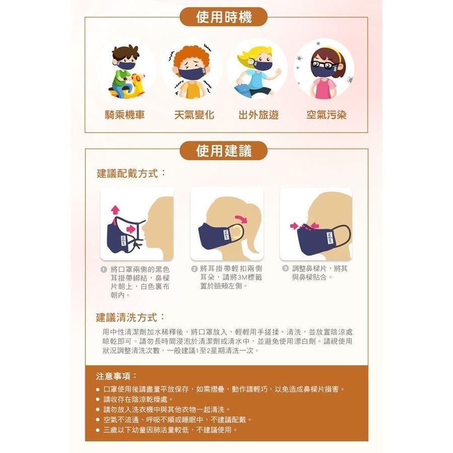 3M舒適口罩 兒童款