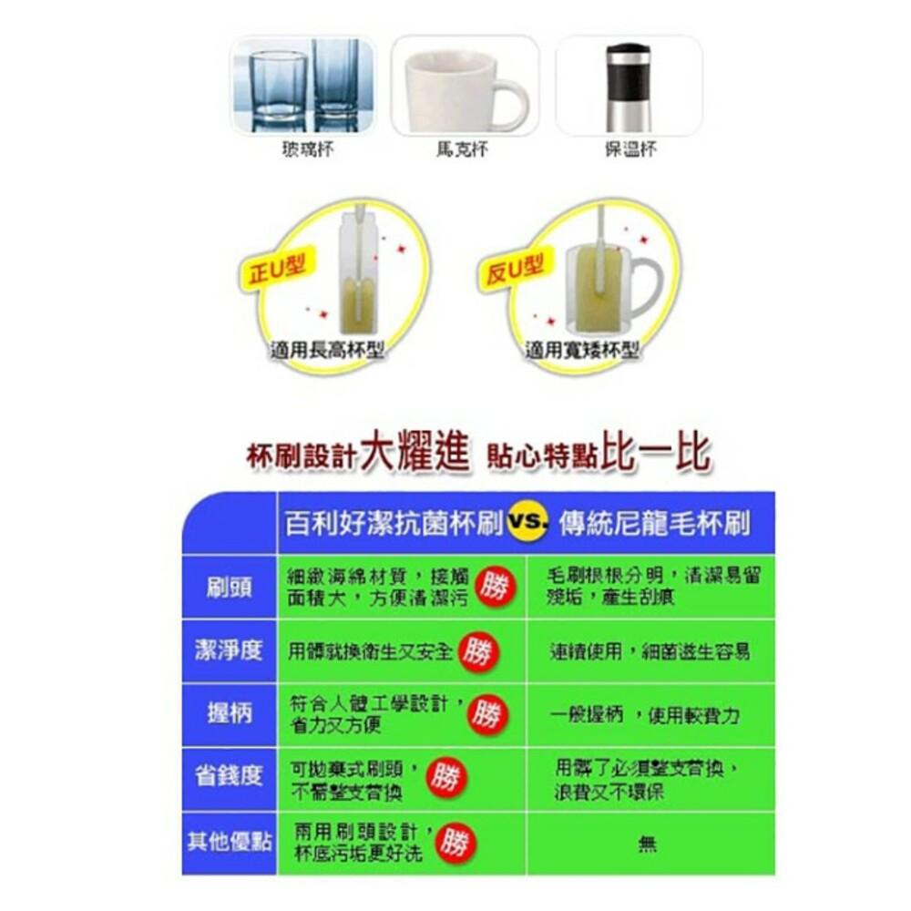 3M 好潔淨抗菌杯刷補充包