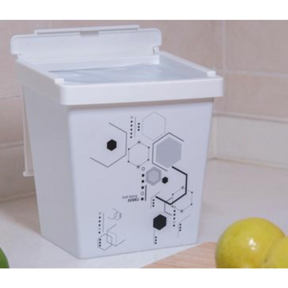 方程式兩段掀蓋式垃圾桶(小)