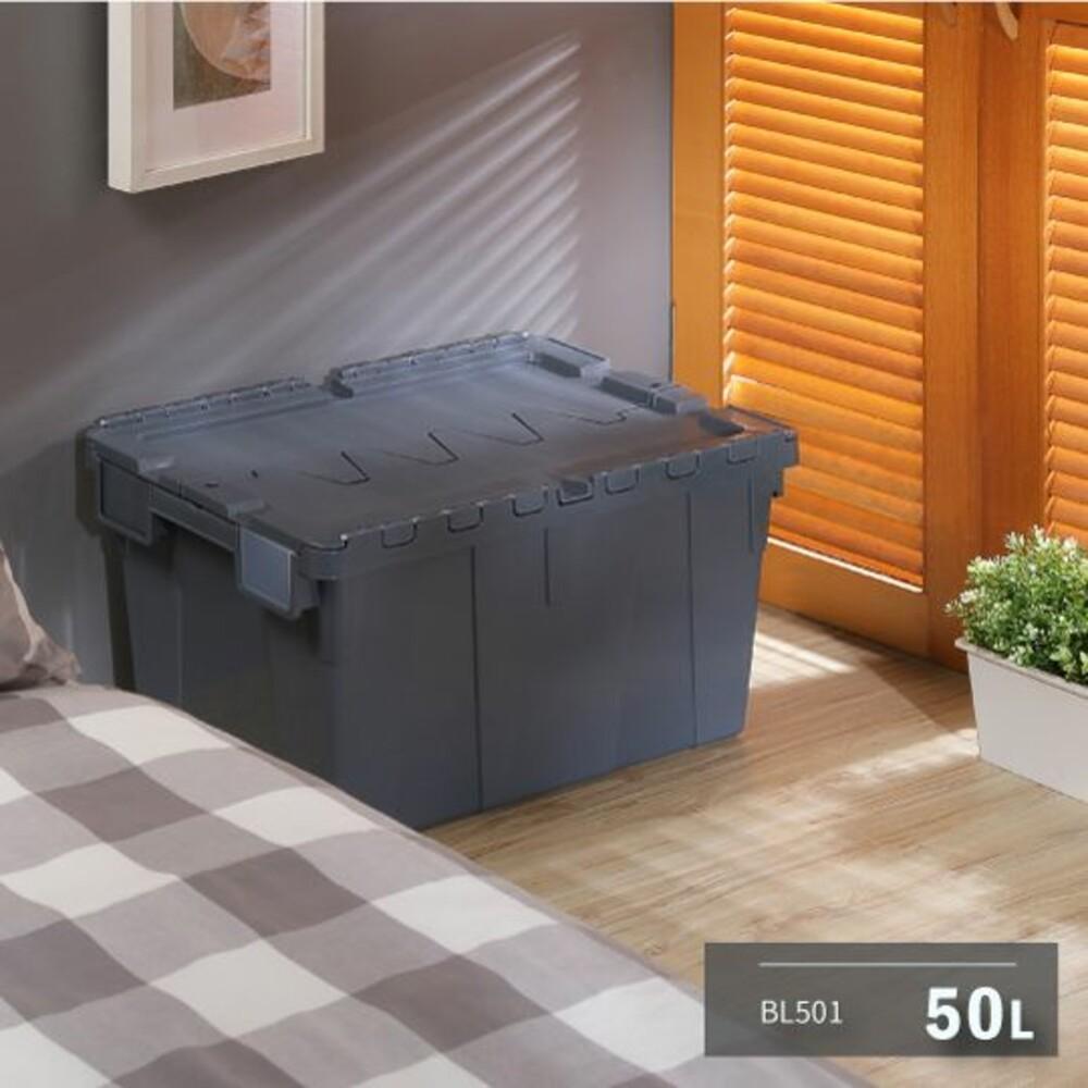 KEYWAY 3號物流箱50L 商用收納箱 貨運運輸箱