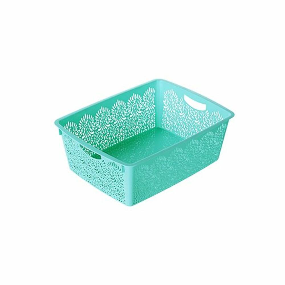 聯府 5號蝴蝶籃 收納籃 置物籃:顏色隨機出貨 封面照片