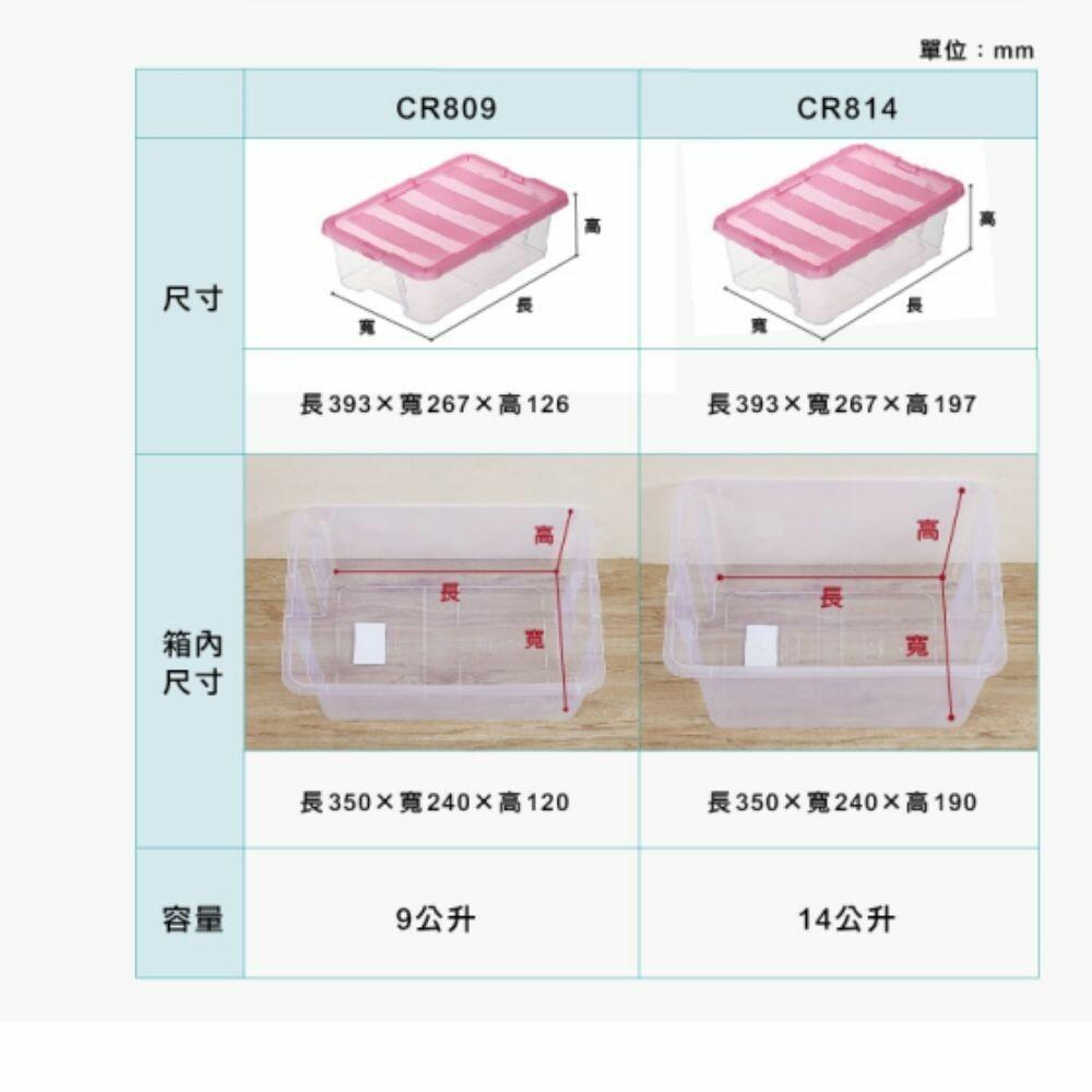 KEYWAY 常用收納盒4L CR-804