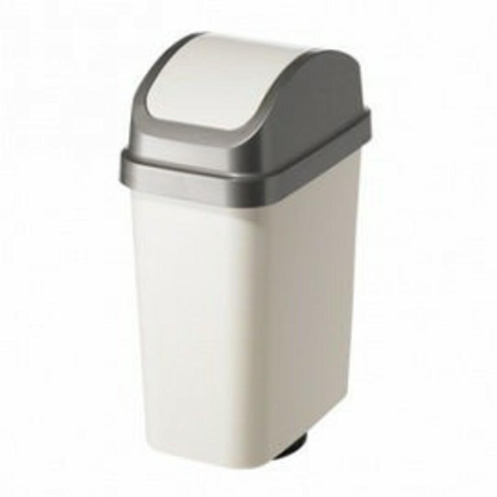 聯府 天使白10L附蓋垃圾桶 CV-310