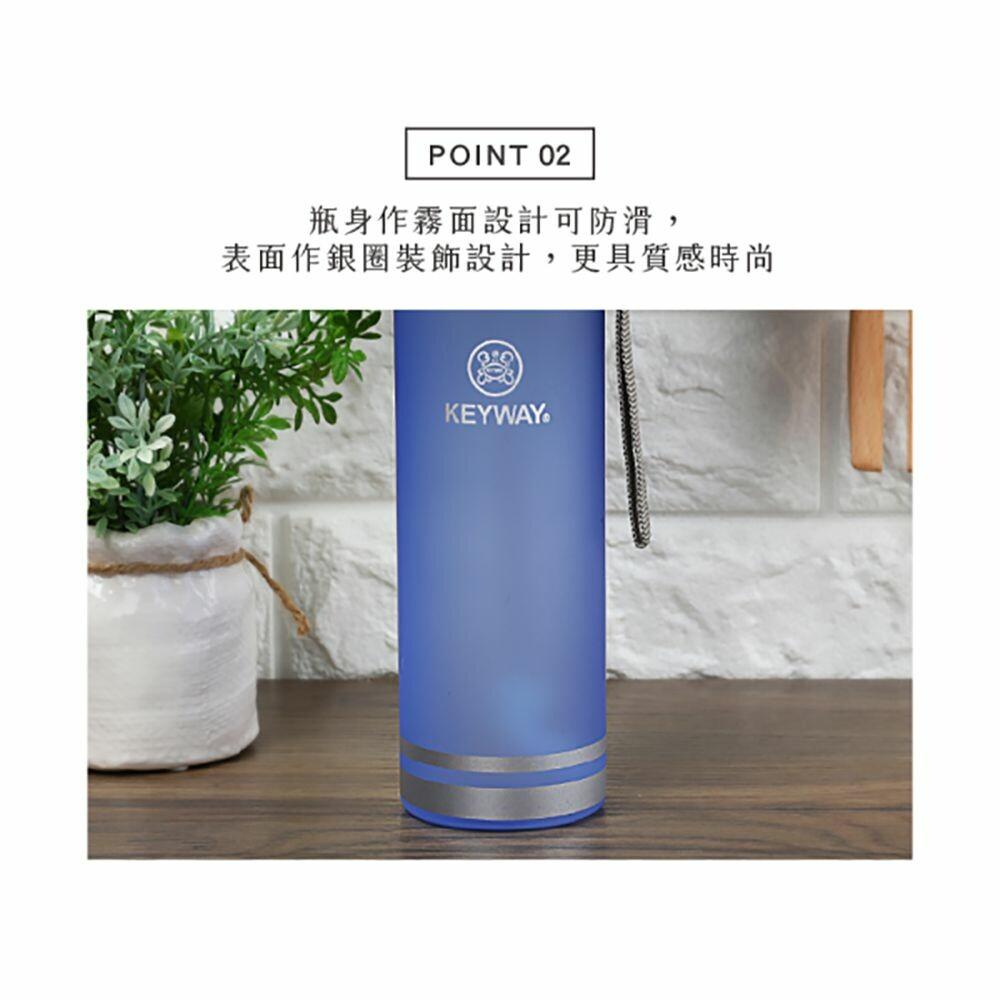 聯府 水雲彩吸管水壺570ML(L) EG-570