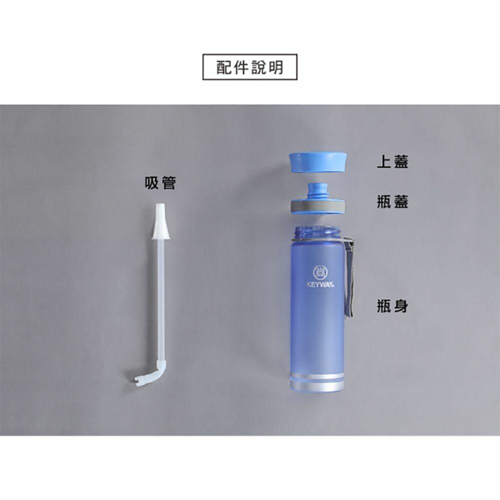 聯府 水雲彩吸管水壺430ML(M) EG-430