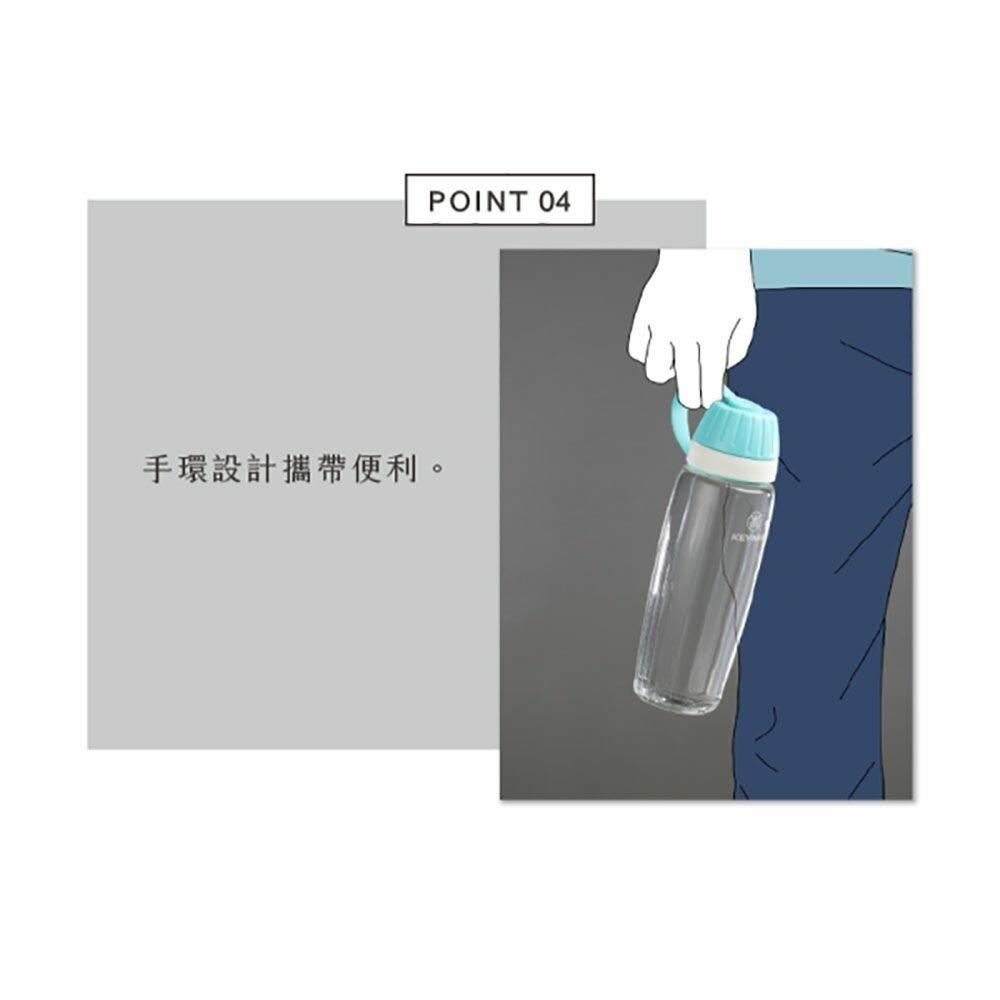 聯府 玉米490CC吸管水壼 EK490