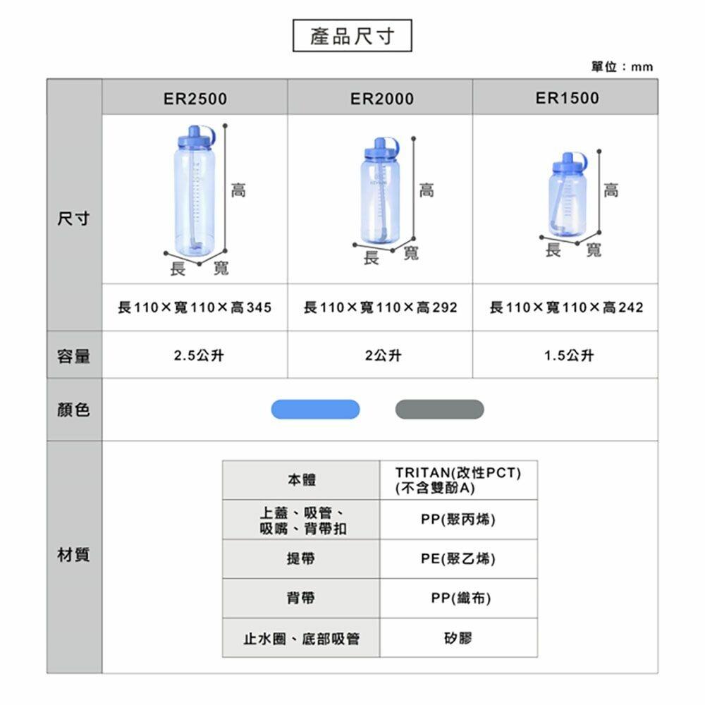 聯府 加水站水壺 ER-1500