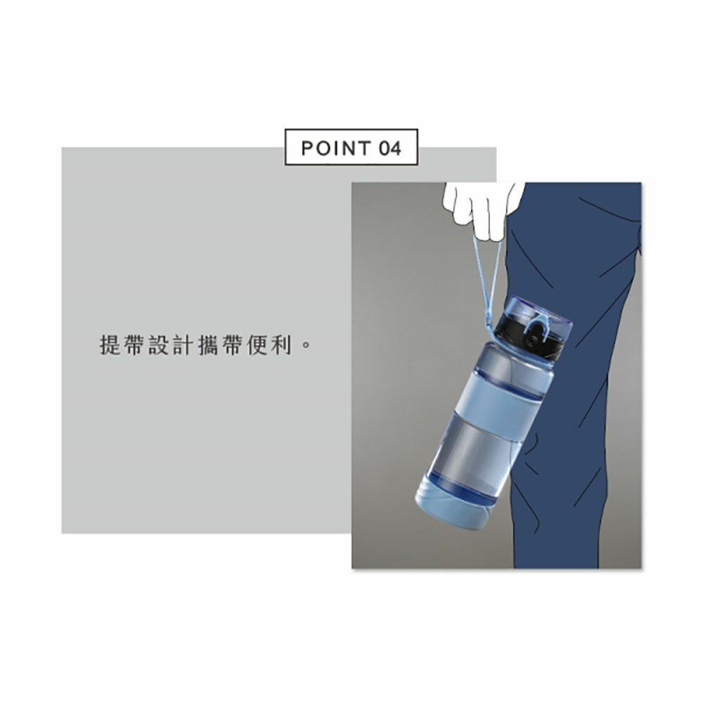 聯府 喝水站1100cc隨身瓶 EV-1100