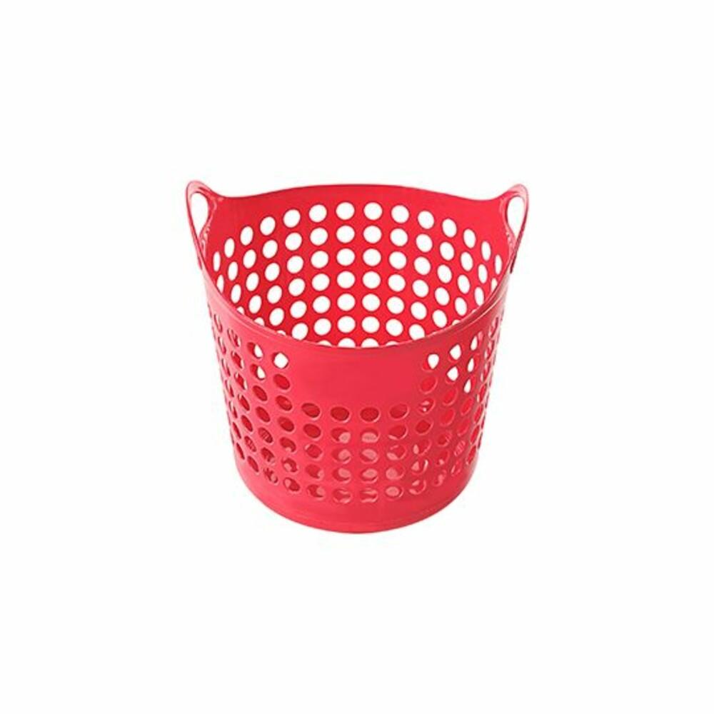聯府 圓型EVA置物籃(中) 洗衣籃F-05