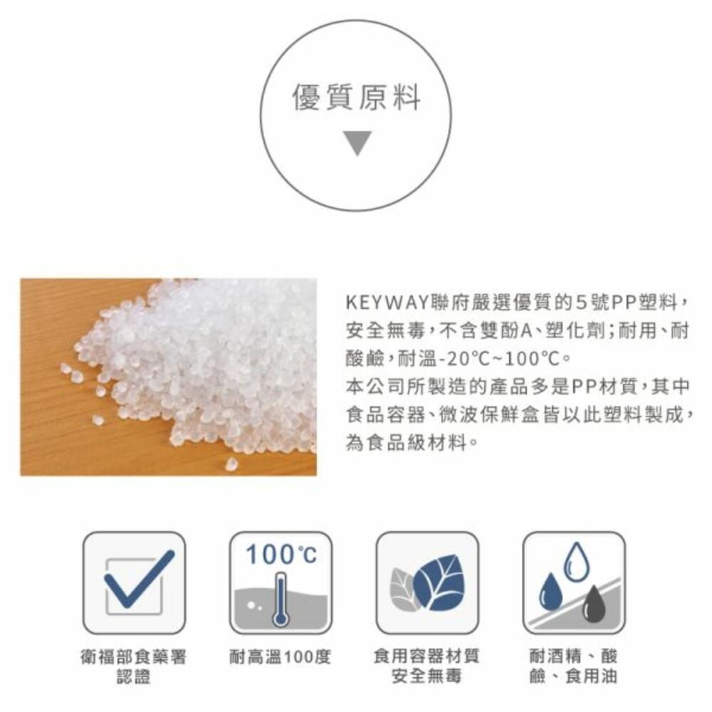 聯府 青松長型保鮮盒380ml(5入 )GIR-380