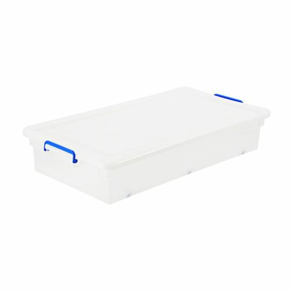 KEYWAY透明掀蓋整理箱38L 床下收納箱K-018 封面照片