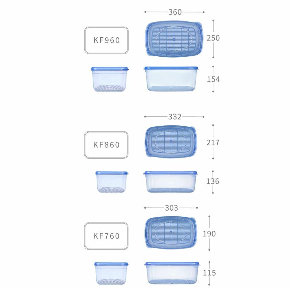 聯府 優鮮保鮮盒5號4.5L/ KF760