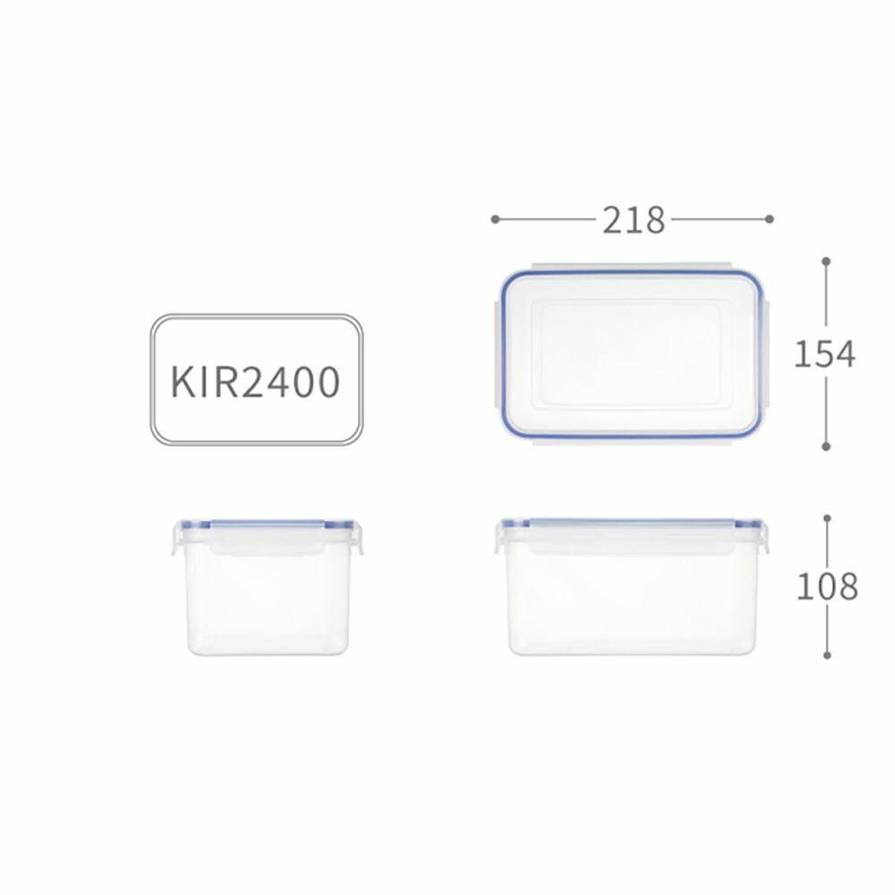 聯府 天廚長型保鮮盒 KIR-2400