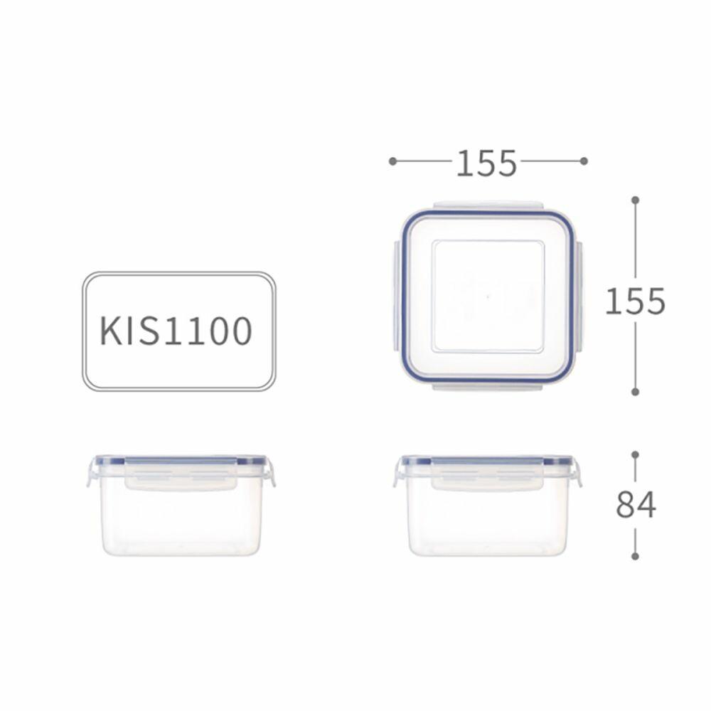 KEYWAY-KIS-1100-聯府 天廚方型保鮮盒 KIS-1100