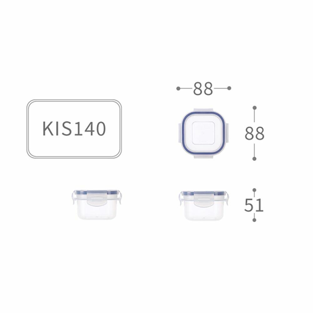 聯府 天廚方型保鮮盒 KIS-140