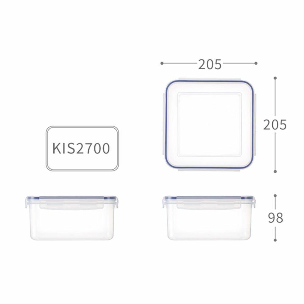 聯府 天廚方型保鮮盒 KIS2700 封面照片