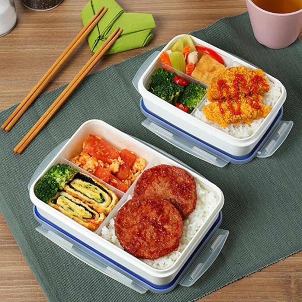 KEYWAY-KLB670-聯府 中三格天廚微波盒 KLB670
