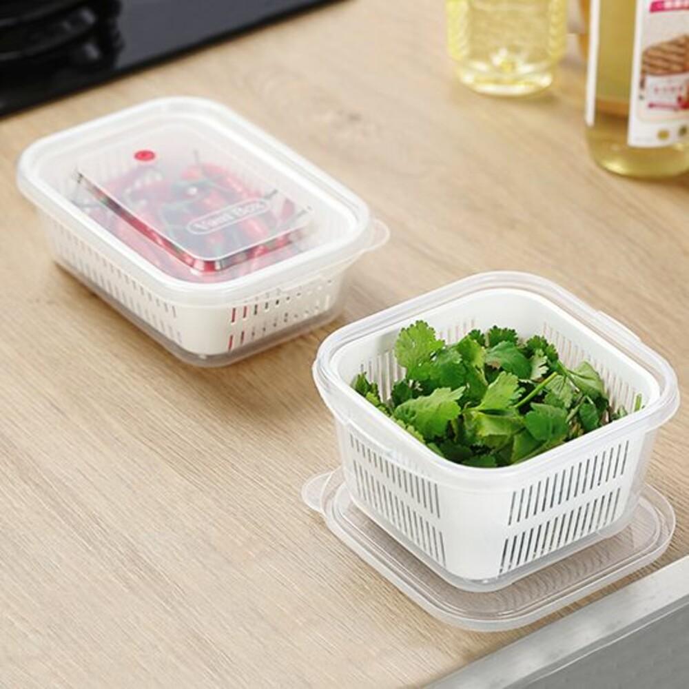 KEYWAY-KVR890-KVS970-聯府 小廚師保鮮盒:長型890ML/方型970ML