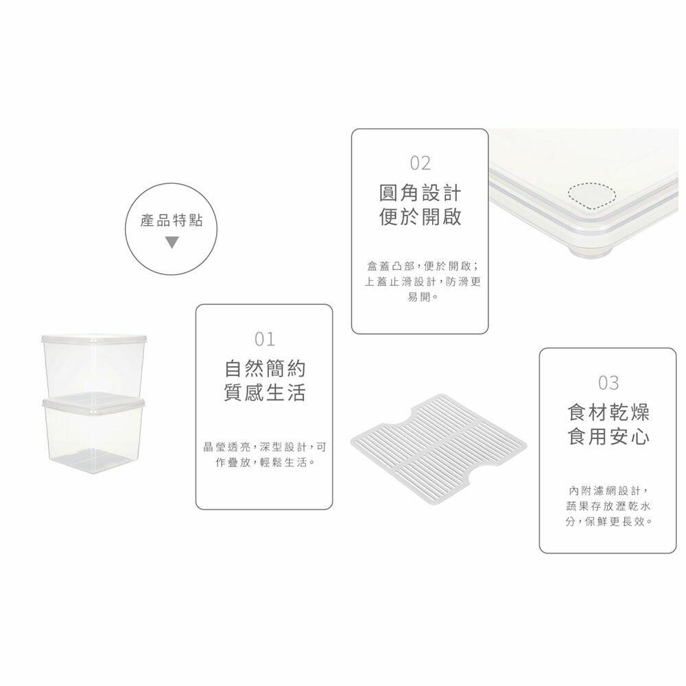 聯府 名廚深型保鮮盒