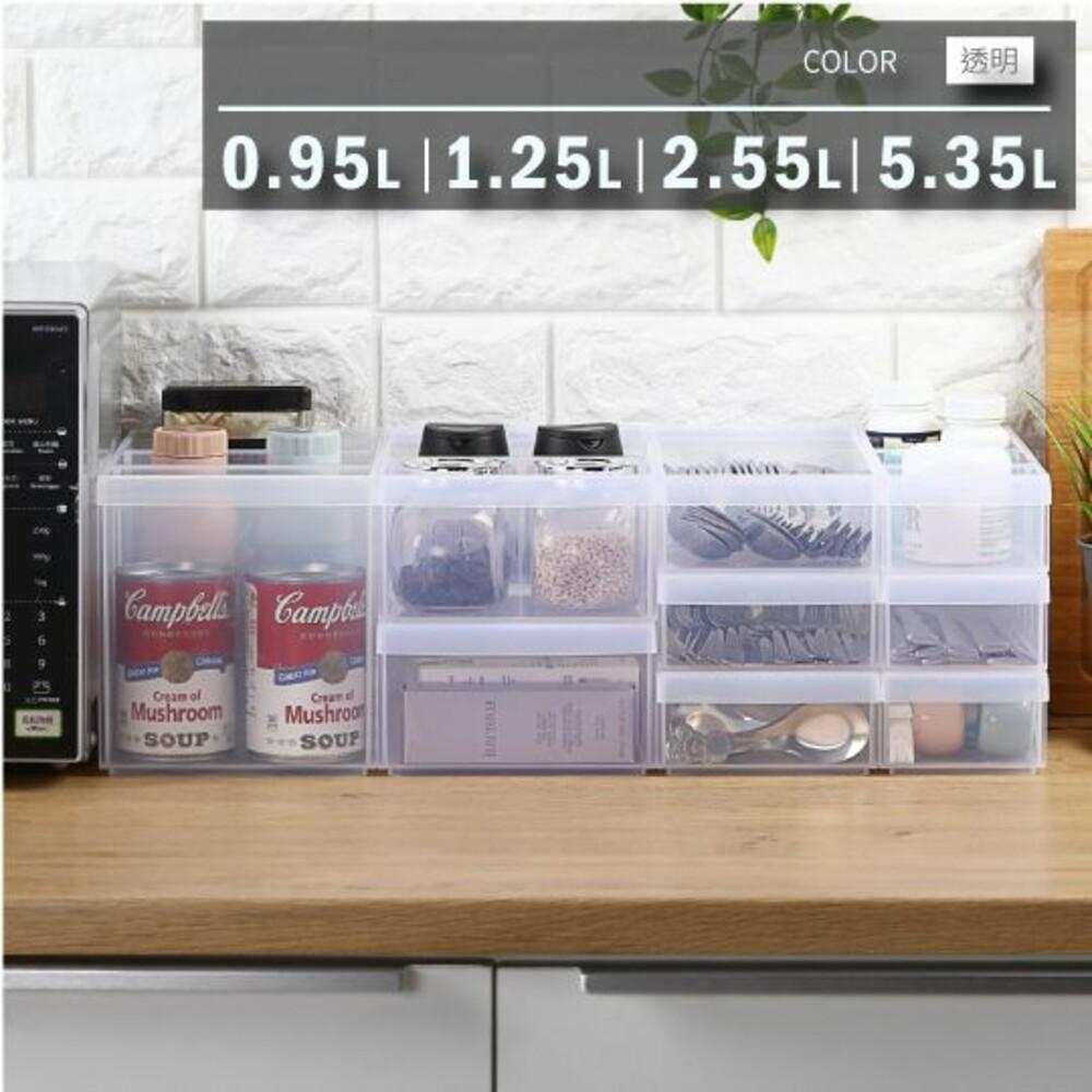KEYWAY-LF3001-聯府 Fine隔板整理盒(小)