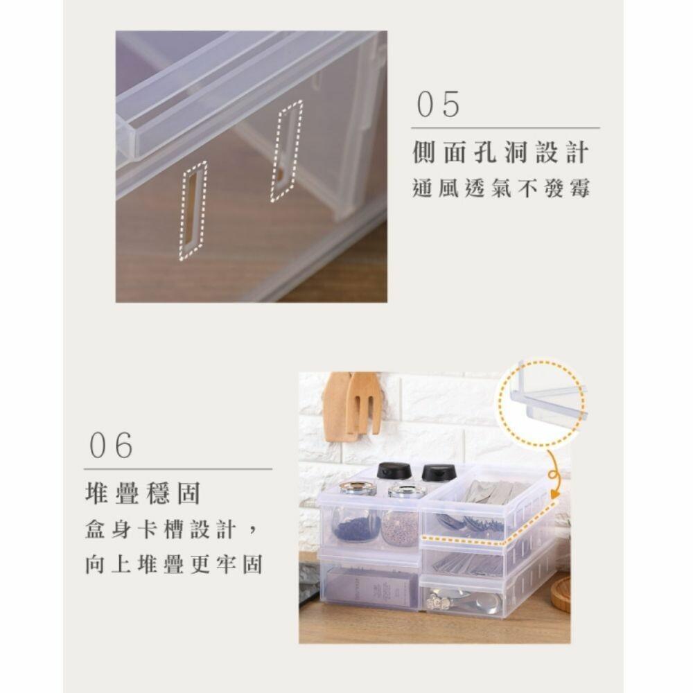 聯府 Fine隔板整理盒(小) LF3002