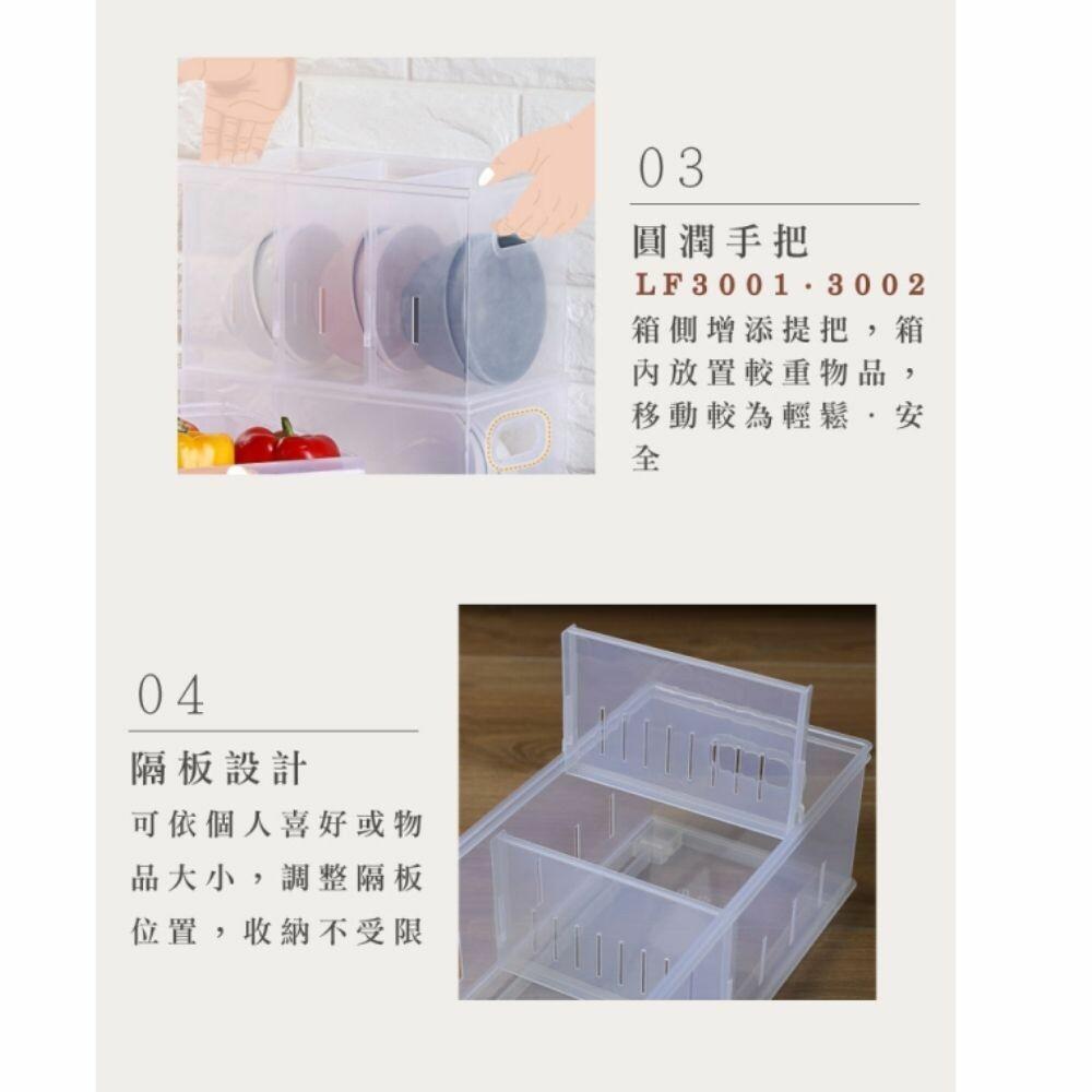 聯府 Fine隔板整理盒 LF3003