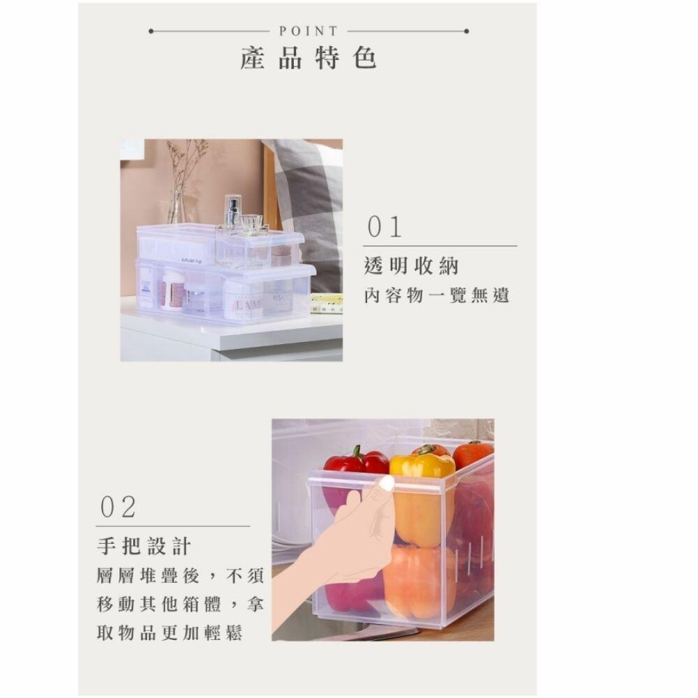 聯府 Fine隔板整理盒(小) LF-3004