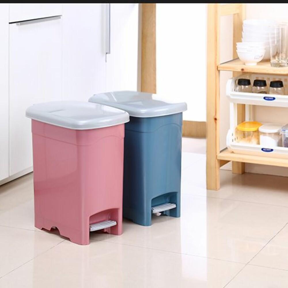 KEYWAY-LO010-聯府 年代10L長型垃圾桶 LO010