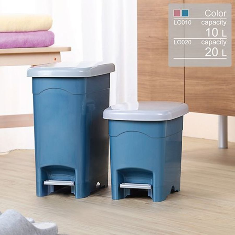 KEYWAY-LO020 - 聯府 年代20L長型垃圾桶 LO020