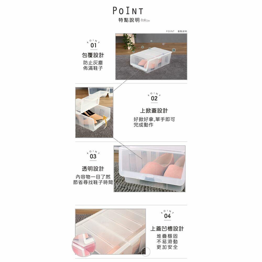 聯府 全家鞋盒3入/組 P50038