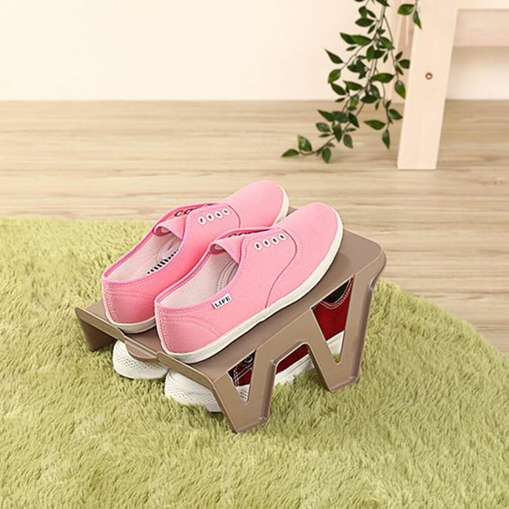 KEYWAY-P500451-聯府 大阪城鞋架(1入) P500451