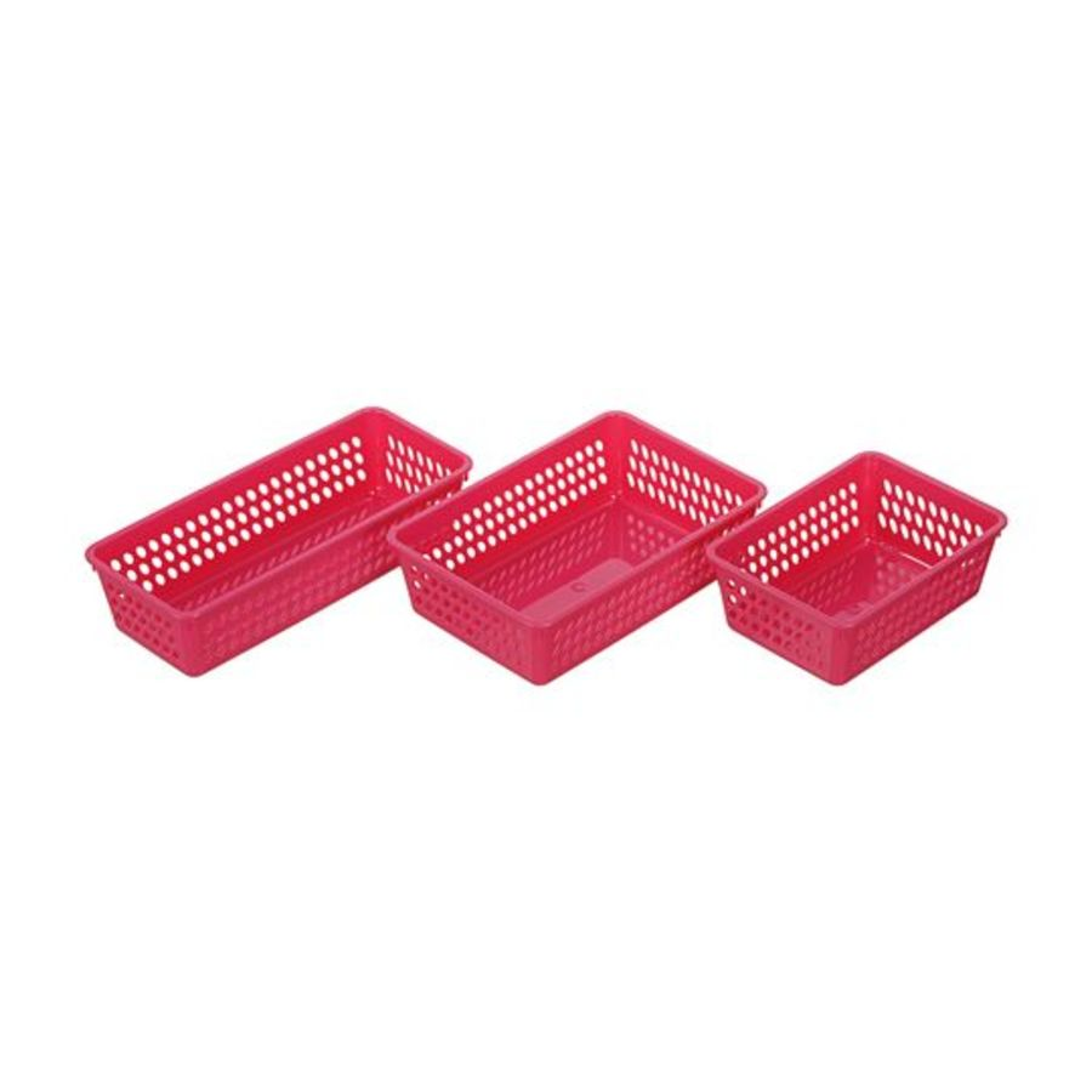 KEYWAY-P60012-P60013 - 聯府 2、3號晶好平籃  小物收納籃