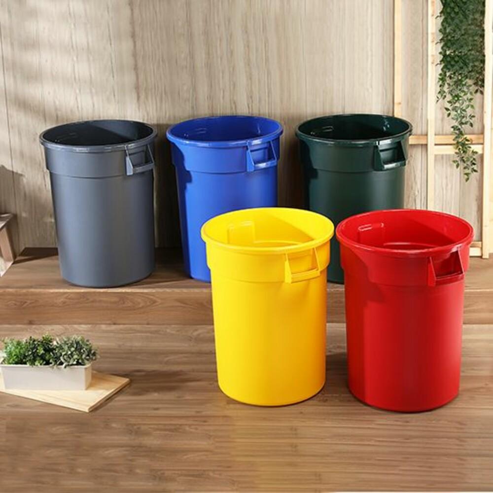 KEYWAY-PCX130-聯府 商用圓型垃圾桶130L PCX130