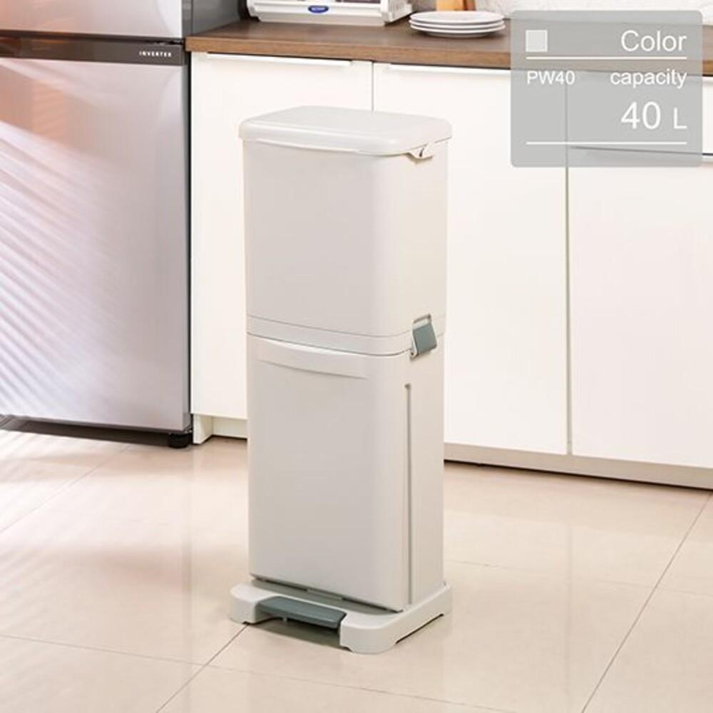 KEYWAY-PW40-聯府 台北分類垃圾桶 PW-40