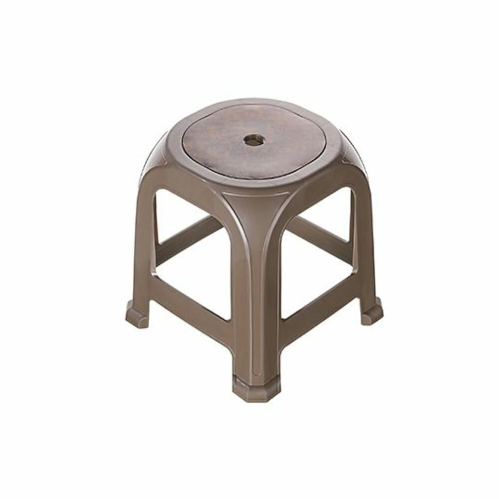 KEYWAY-RP17-聯府 圓唐木椅 36公分RP17