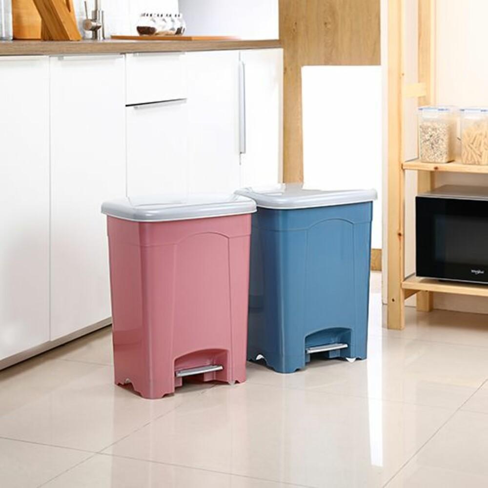 KEYWAY-SO015-聯府 現代中型15L垃圾桶 SO015