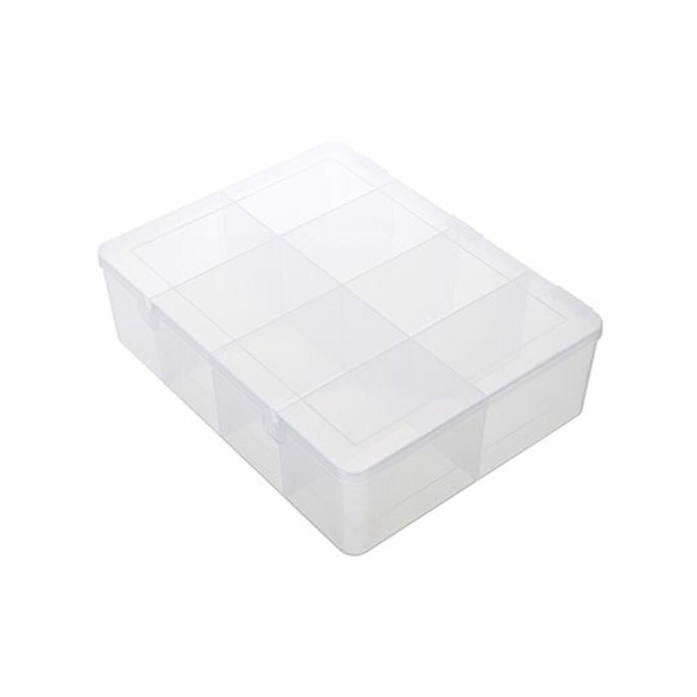 聯府 看的見8格收納盒 TFL008