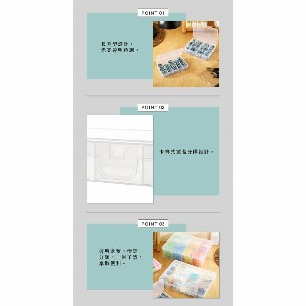 聯府 看的見20格收納盒 TFL020