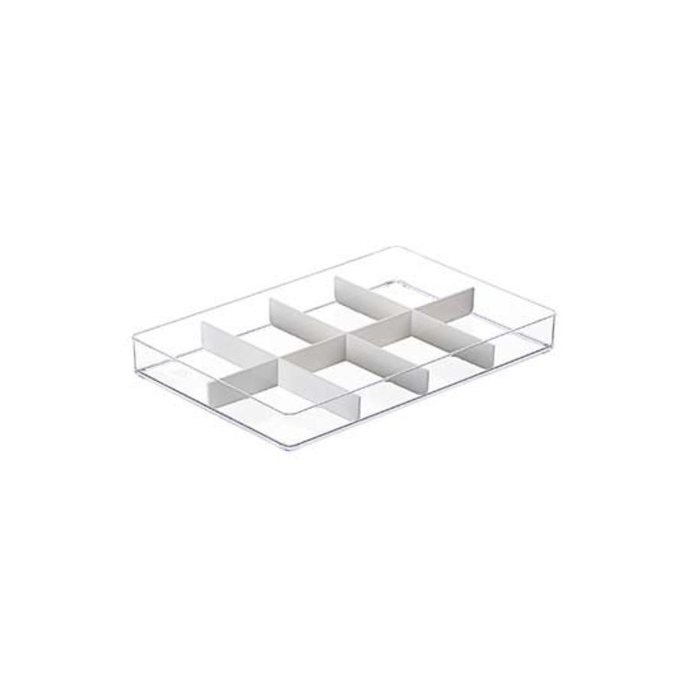 KEYWAY 安納5號收納盒(8格)TLV-605 透明小物收納