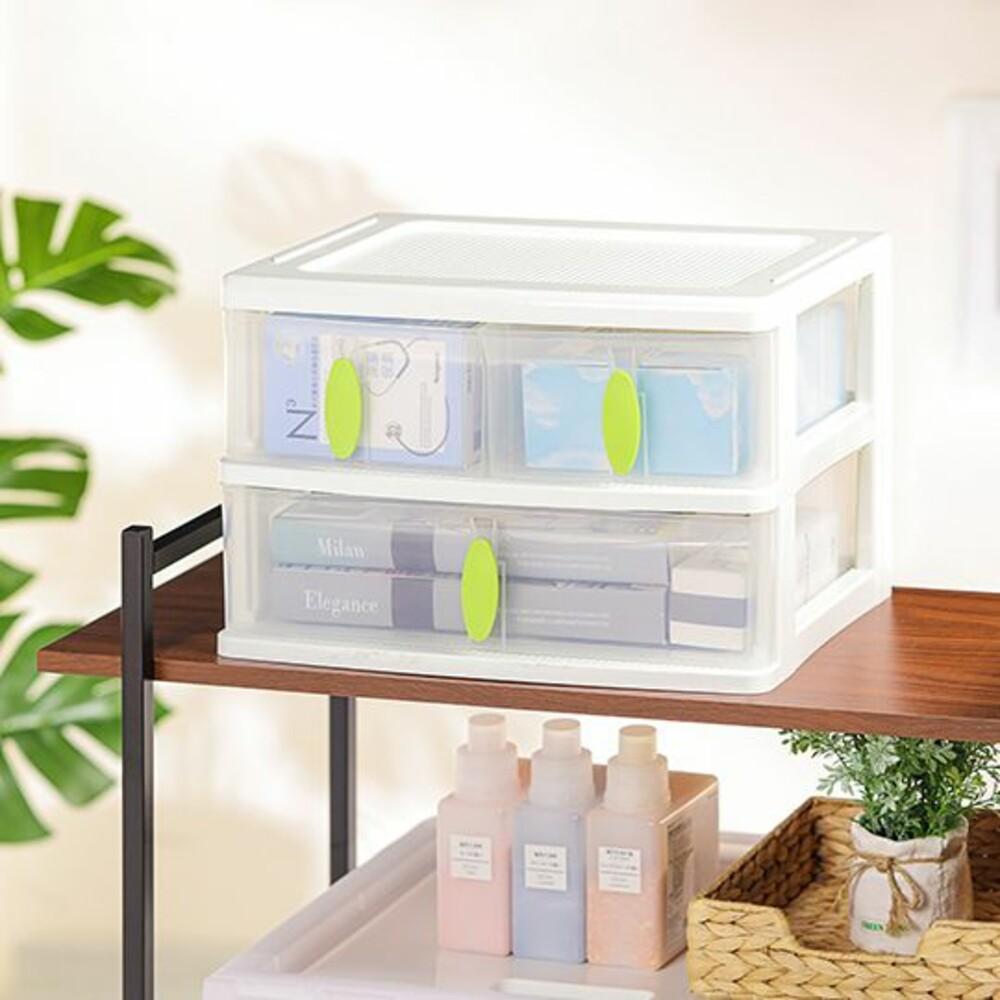 KEYWAY-W3-聯府 清淨居家收納盒3格 W3