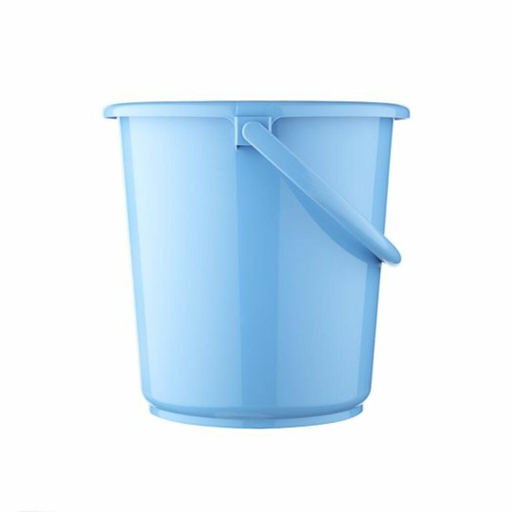 聯府 舒適6L圓型水桶(藍) WA061