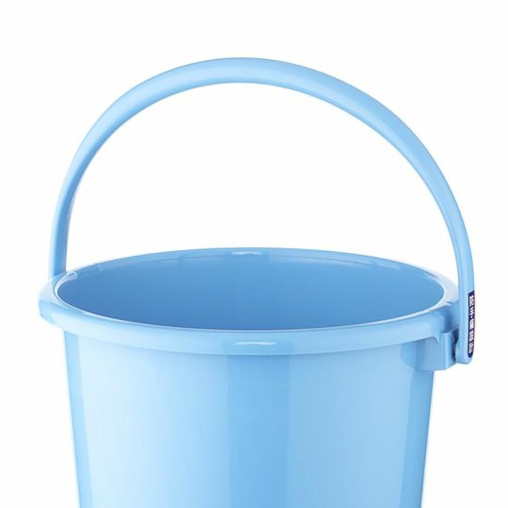 聯府 舒適15L圓型水桶(藍) WA151