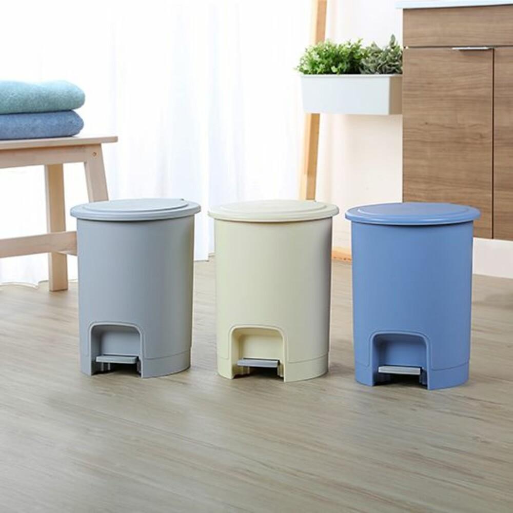 聯府 京都15L踏式垃圾桶 XO015