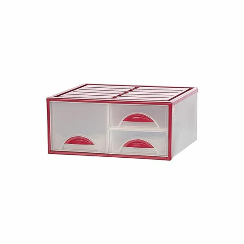 KEYWAY_K0983-MIT 抽屜整理箱 K0983 三抽分格抽屜整理箱 收納箱