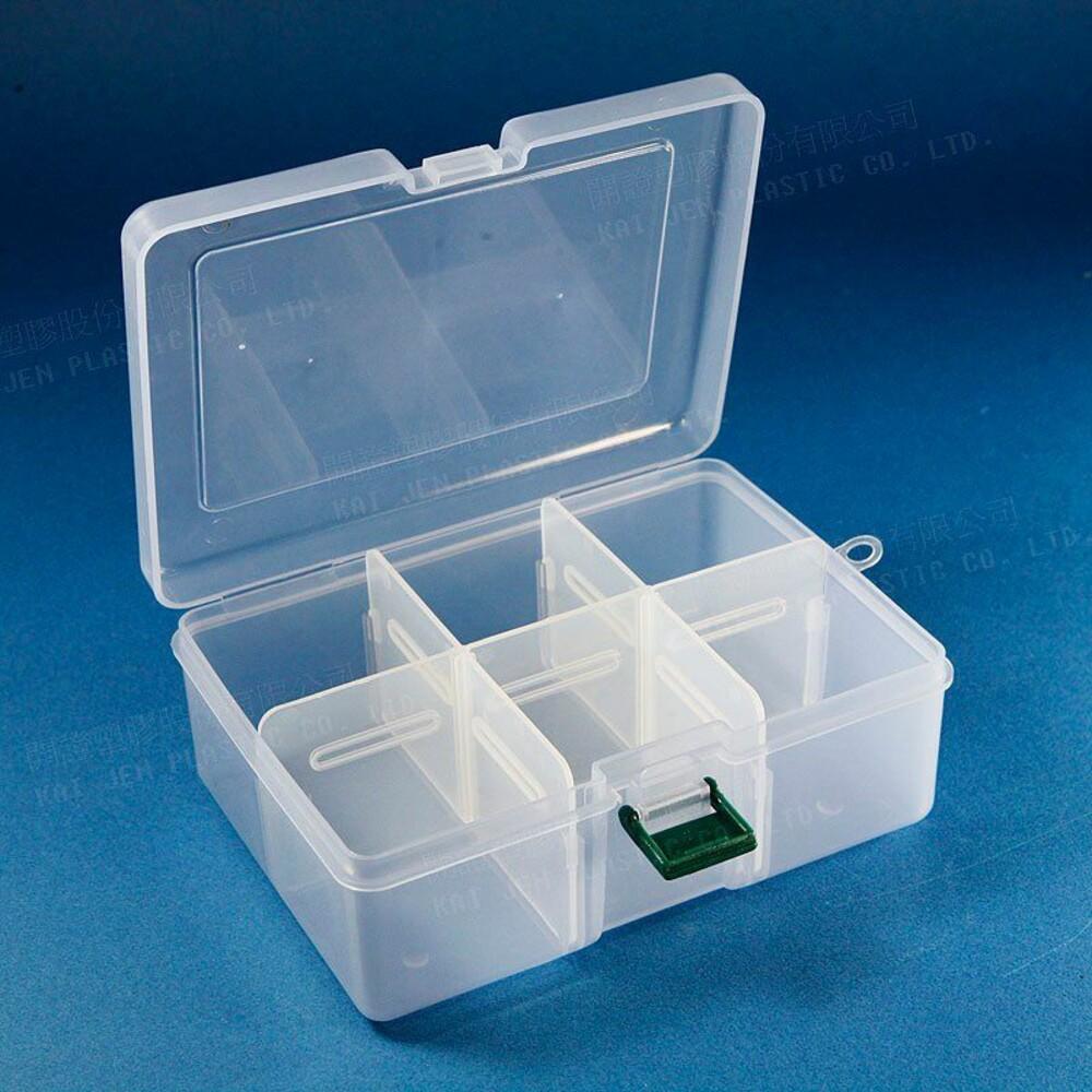 KJ-K812-迷你收納盒 K-812 小集合6格收納盒